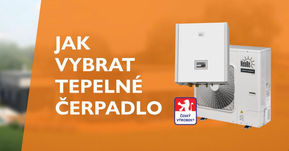 Jak vybrat tepelné čerpadlo?